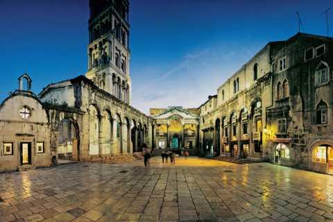 Split: 1,5 uur durende wandeling en paleis van Diocletianus
