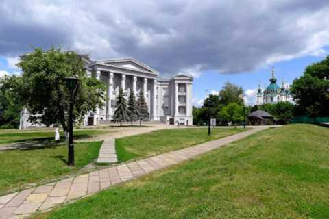 Kiev: St Andrew's Church & Museum of the History of Ukraine