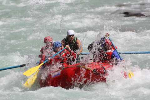 Sunwapta Challenge Rafting en aguas bravas en Jasper