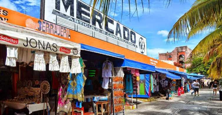 Cidade de Cancún e Shopping Tour com Ruínas de El Meco