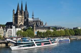 Köln Hop-On/Hop-Off-Bustour & Schifffahrt mit der KD