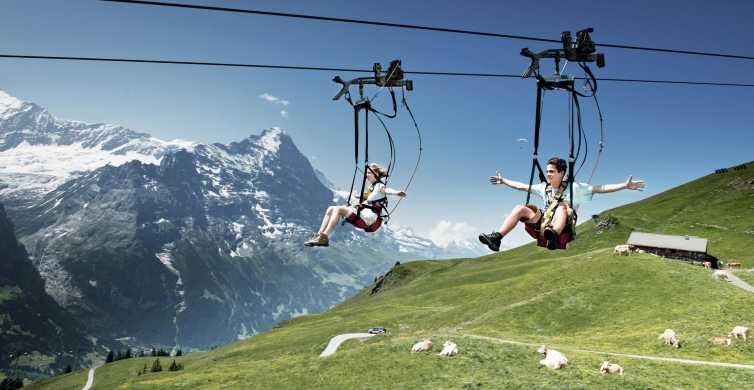 Day Trip from Zurich: Grindelwald First Mountain Adventure