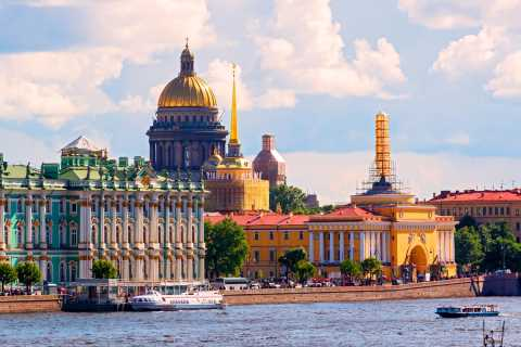 St Petersburg: 2-day Visa-free Shore Excursion