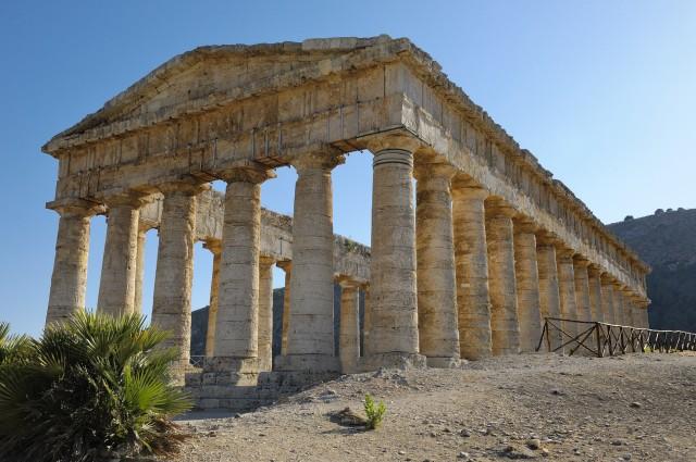 Vanuit Palermo: dagtrip Segesta, Erice en zoutpannen Trapani