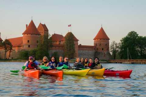 Tour guiado en kayak en Trakai