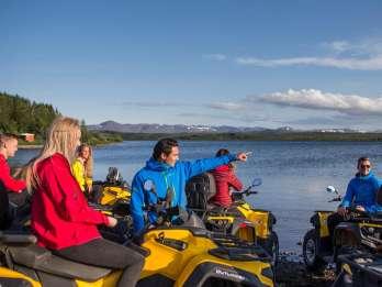 Reykjavik: Halbtägige Quad-Tour zu den Gipfeln