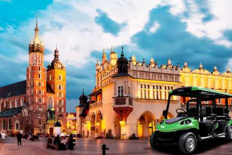 Krakow Sightseeing Tour by Heated Golf Cart