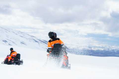 Golden Circle, Super Truck and Snowmobiling Small Group Tour