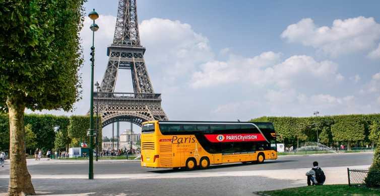 Paris Immersive Audio-Guided Coach Tour & Seine River Cruise
