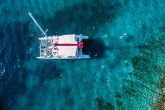 Split: Cruzeiro de Catamarã de 1 Dia a Havar e Ilhas Pakleni