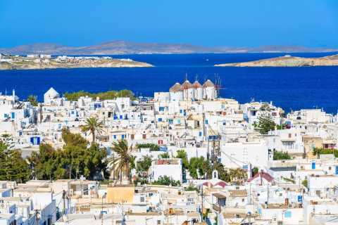 From Athens: Mykonos 2-Day Trip with Overnight Stay