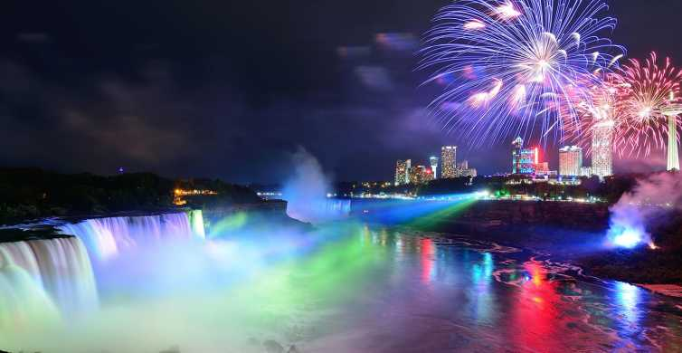 From Toronto: Niagara Falls Evening Tour With Boat Cruise