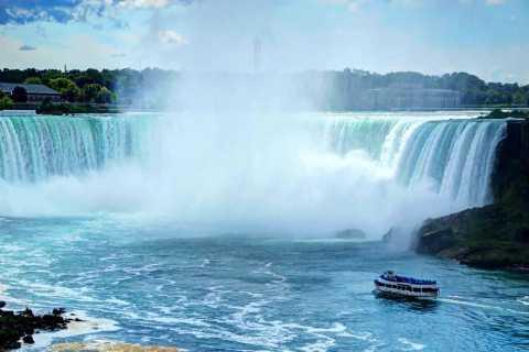 Desde Toronto: tour a cataratas del Niágara y paseo en barco