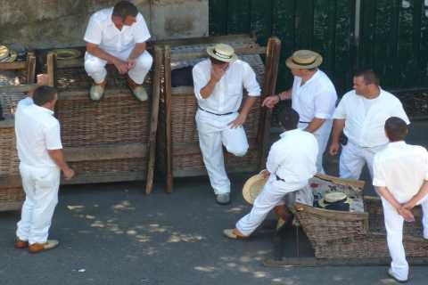 From Funchal: Nuns Valley, Monte and Sleigh Ride Tour