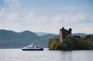 Loch Ness: Kaledonischer Kanal – 2-stündige Bootsfahrt
