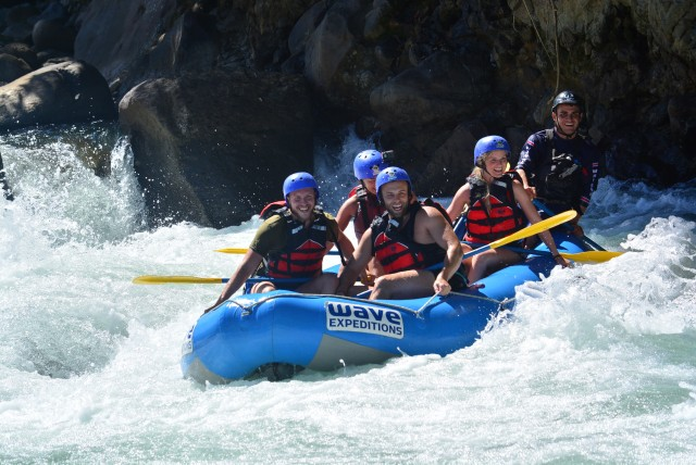 Costa Rica Whitewater Rafting Class 3/4 vanuit La Fortuna