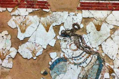 Explore Akrotiri: Private Guided Tour with Hotel Pick-Up