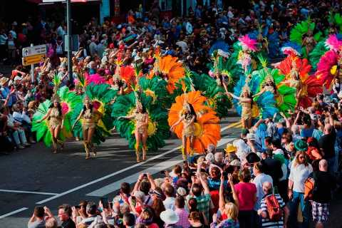 From Tenerife South: Carnival Parade Santa Cruz de Tenerife