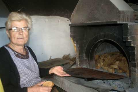 Rethymno: Traditional Village Bakery Class & Tour w / pranzo