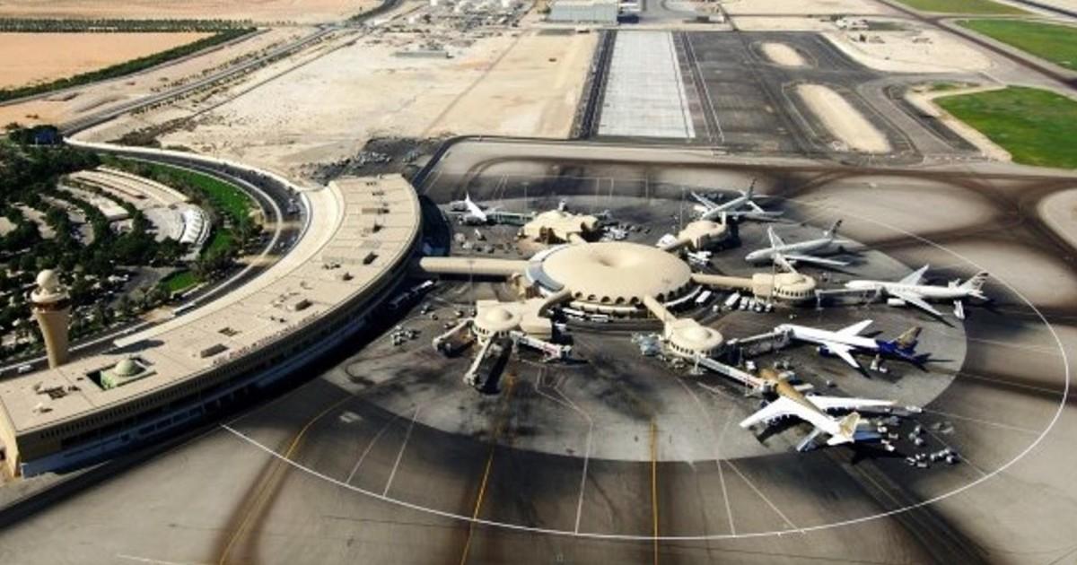 Abu Dhabi Airport Ankunft