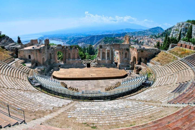 Ab Cefalù: Juwelen Siziliens - der Ätna und Taormina