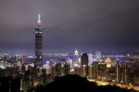 Tour notturno privato di Taipei