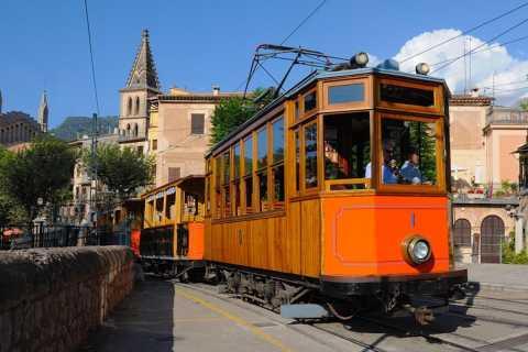 Ab Palma: Tramuntana-Tour mit dem Roten Blitz & Bus