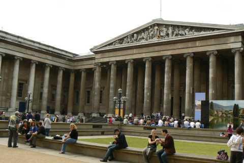 Museu Britânico de Londres: Visita guiada em italiano
