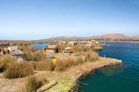 Excursão às Ilhas Flutuantes de Uros Meio Dia de Puno