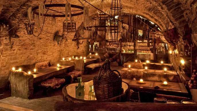 Praga: cena medieval con bebidas ilimitadas