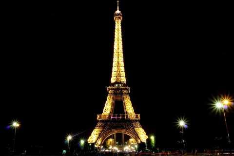 Paris beleuchtete Wanderung auf Spanisch