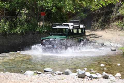 From Ayia Napa: Troodos Classic Jeep Safari
