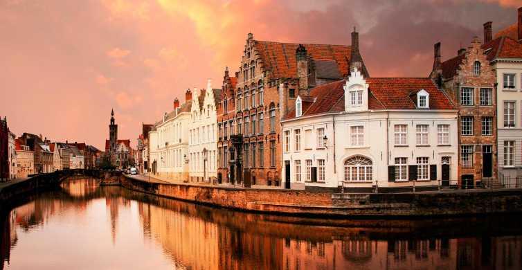Desde Ámsterdam: viaje de 1 día a Brujas en español