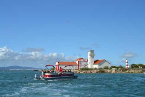 Faro: Ria Formosa Private Boat Tour with 2 Island Visits