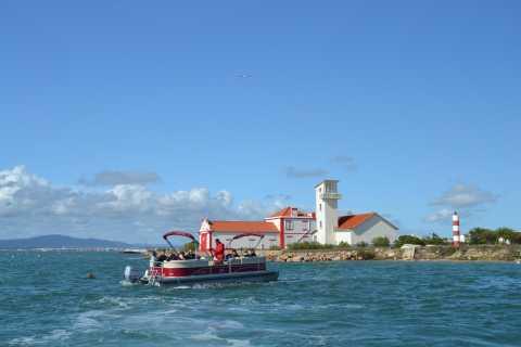 Faro: Tour Particular Barco Ria Formosa c/ Visita a 2 Ilhas