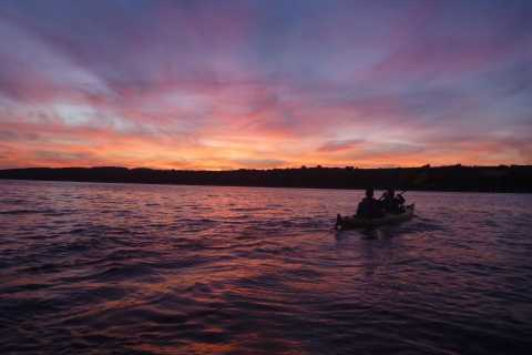 Quebec City Sunset Sea-Kayaking Excursion with Port Wine