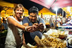 Kuala Lumpur: Excursão local da noite da noite da rua