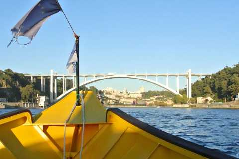 Porto: Self-Guided Bike and Boat Tour with Port Wine Tasting