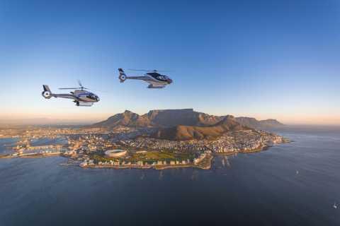 Ciudad del Cabo: vuelo en helicóptero sobre dos océanos