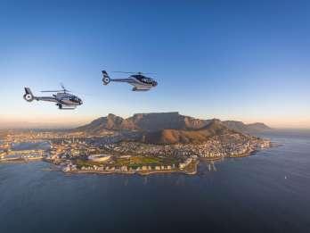 Kapstadt: Helikopterflug zu zwei Ozeanen