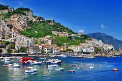 Sorrento: Cruzeiro Amalfi e Positano 1 Dia