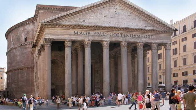 Roma: visita guiada al Panteón y Santa María sopra Minerva