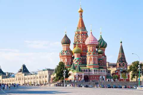 Moscow Half-Day Private Tour