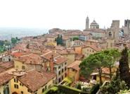 Bergamo: Private Upper Town Walking Tour mit Führer