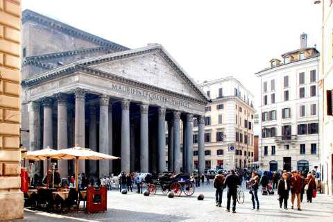 Rome: Pantheon & Santa Maria Sopra Minerva Guided Tour