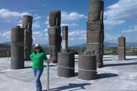 Desde la Ciudad de México: Tour privado de un día a Tula y Tepotzotlán