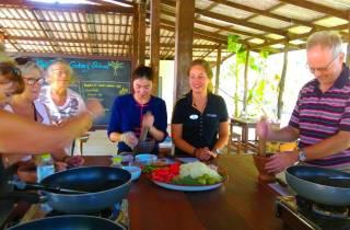 Damnoen Saduak: Tour und authentischer Thai-Kochkurs