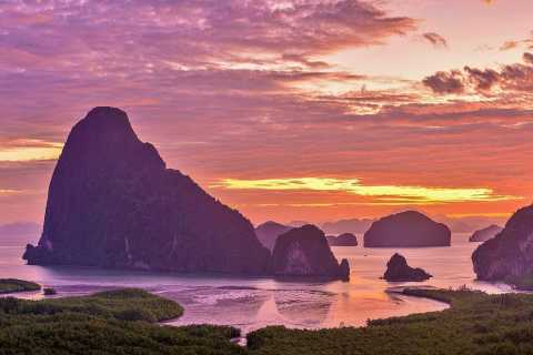 Sunrise in Phangnga with Off-Peak James Bond Island Visit