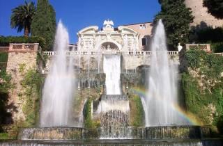 Ab Rom: Ganztägige Villa D`Este & Villa Adriana Tour