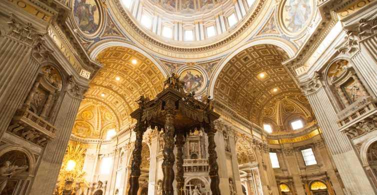 Roma: Excursão Pequeno Grupo sem Fila aos Museus Vaticanos